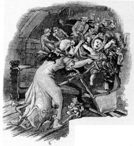 Kindesraub im Mittelalter