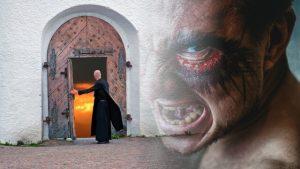 Pfarrer und Dämon