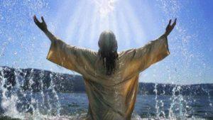 Taufe die neue Geburt