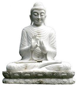 Buddha = Abgötterei
